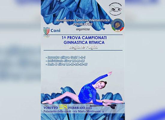 Ginnastica Ritmica Iris, ginnaste biscegliesi in gara a Toritto