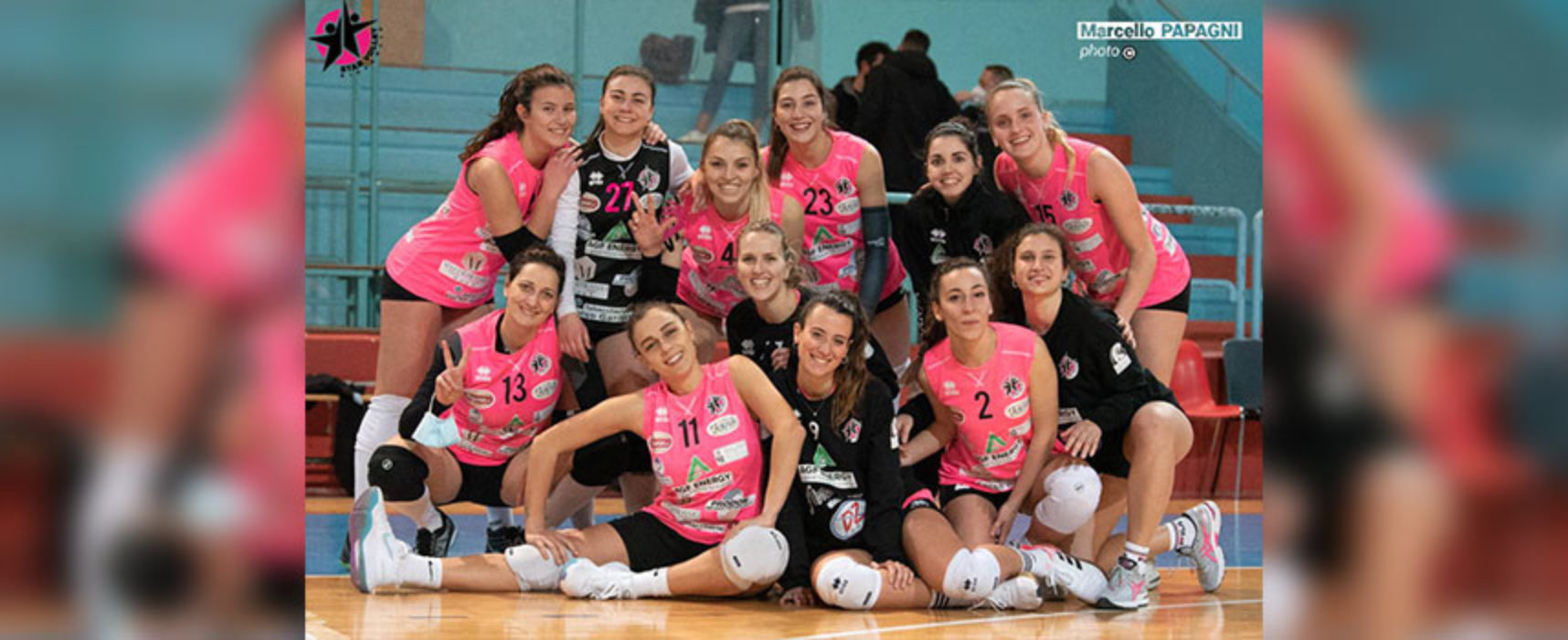 Star Volley Bisceglie, prima vittoria della sua storia all'esordio in campionato