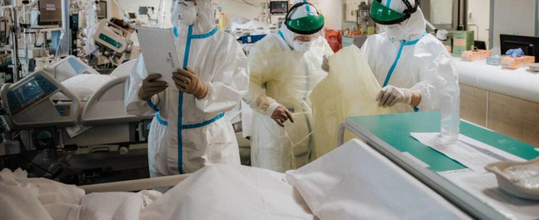 Covid Puglia: oltre 1800 i nuovi casi positivi, 39 i decessi