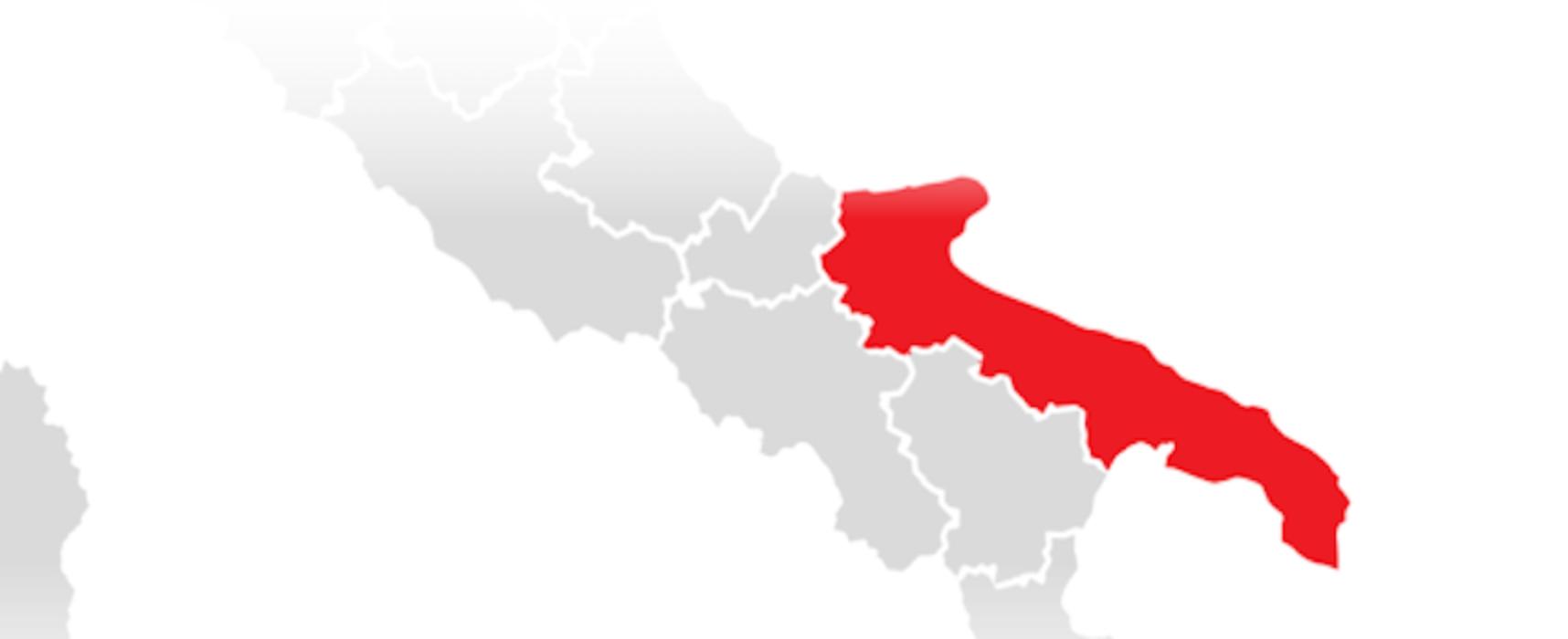 Incidenza contagi ancora sopra soglia, la Puglia rimane rossa