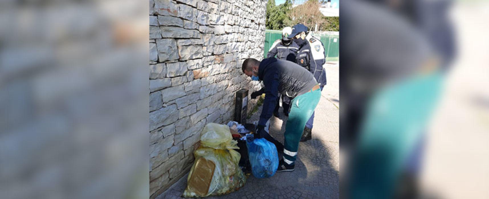 """""""Arresta l'abbandono di rifiuti"""", campagna di sensibilizzazione del Comune di Bisceglie"""