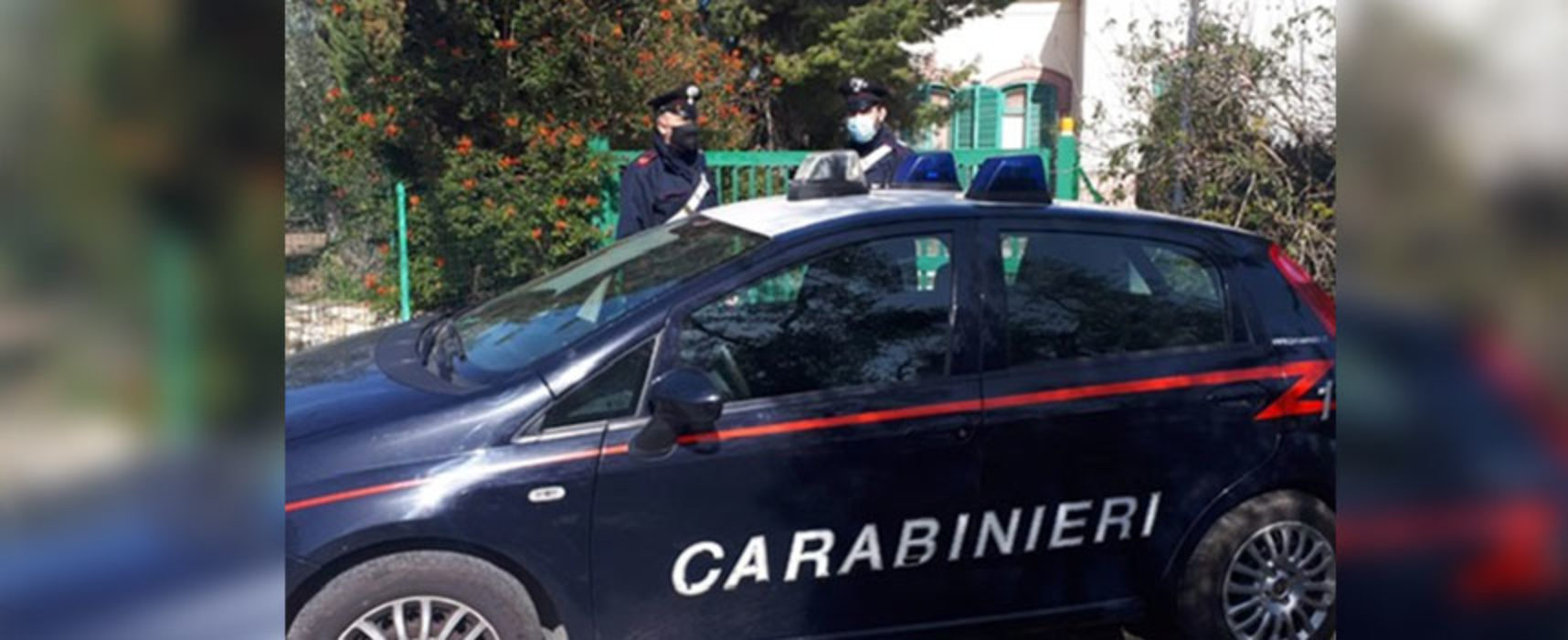 Furto in una villa storica a Bisceglie, arrestate tre persone