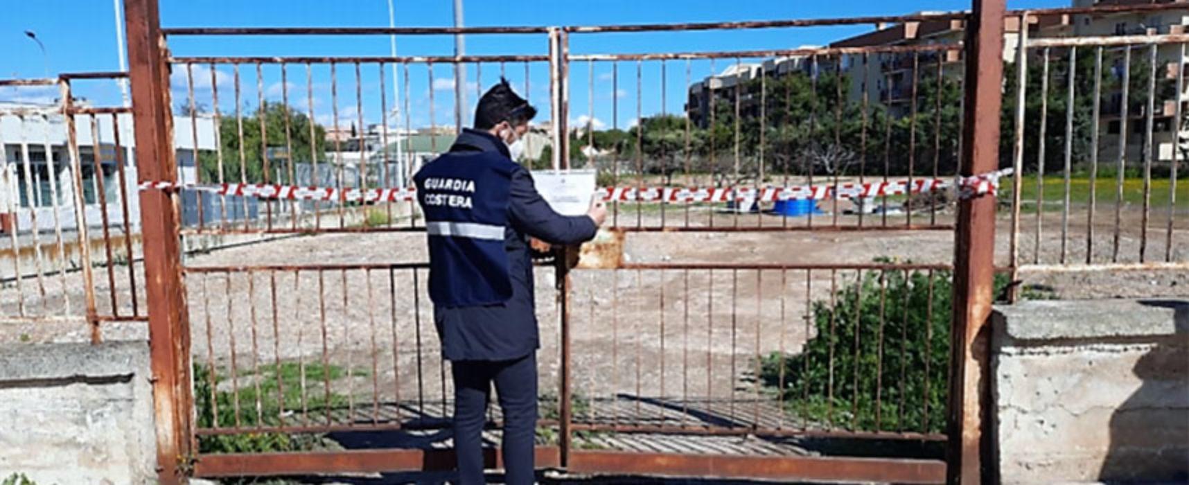 Bisceglie: sequestro rifiuti pericolosi e non posizionati su area privata, 7 persone denunciate / FOTO
