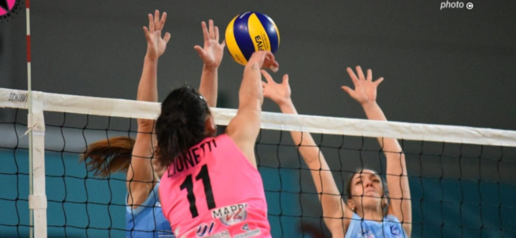 Star Volley abbatte Potenza e aggancia la vetta della classifica