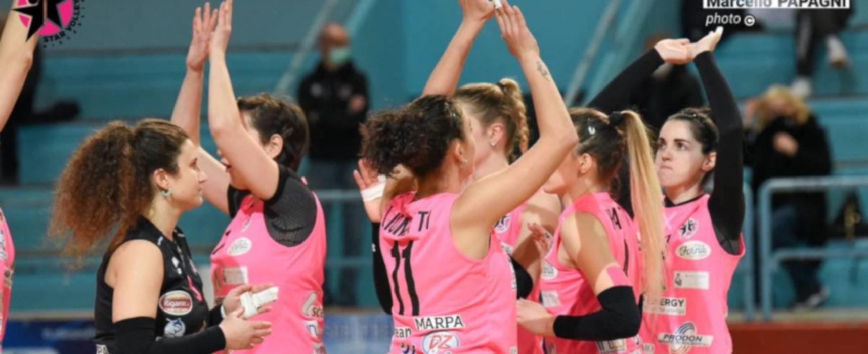 Star Volley impegnata a Foggia nel turno infrasettimanale
