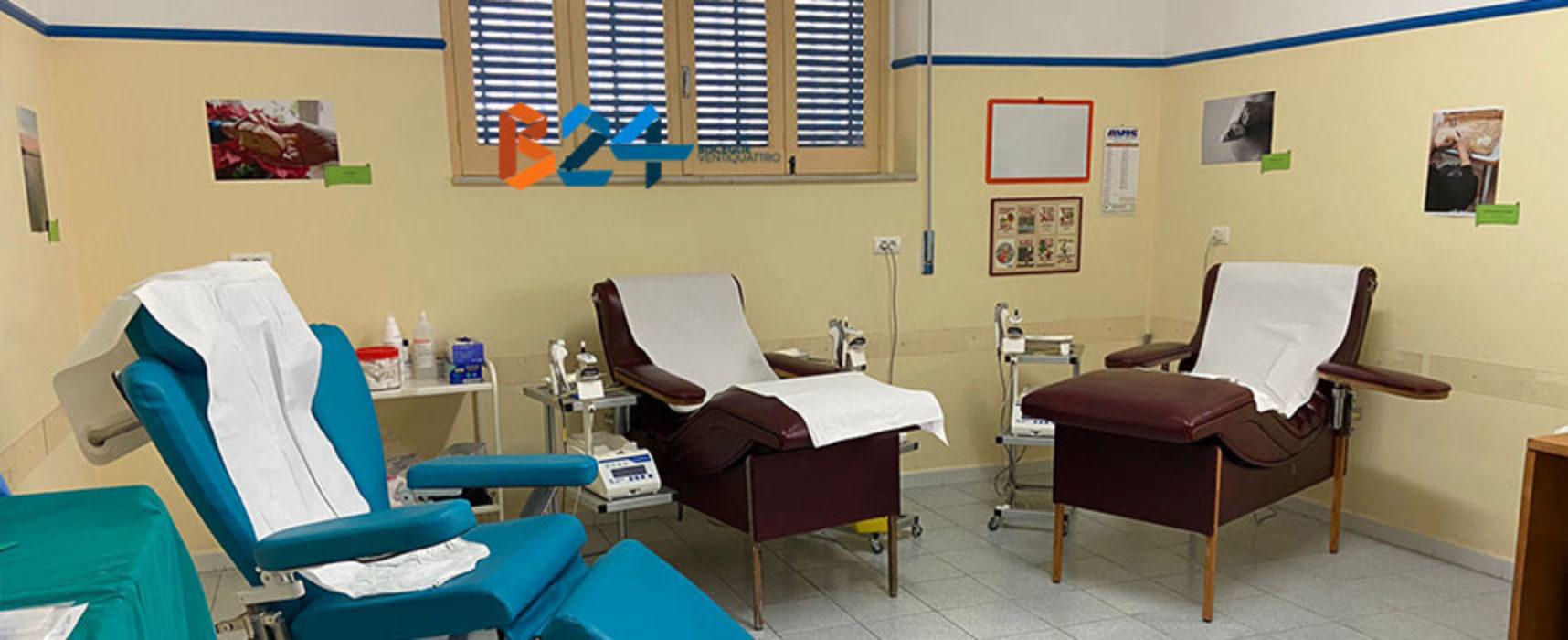 Avis Bisceglie, aperte le prenotazioni per donazione sangue nel fine settimana