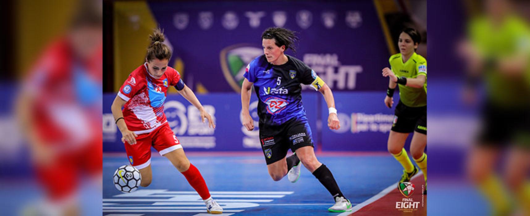 Bisceglie Femminile sconfitto dal Montesilvano e fuori dalla Coppa Italia