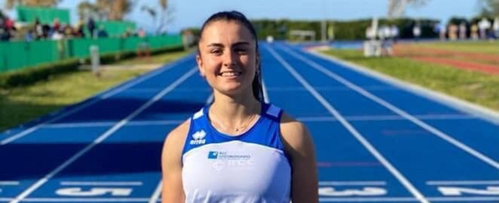 Campionati Italiani Juniores, la biscegliese Todisco trionfa nei 100 metri