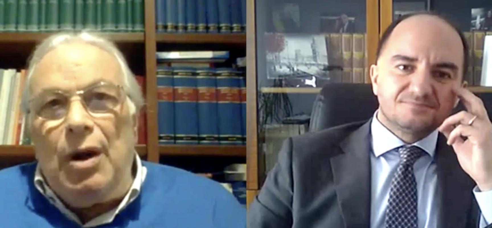 Associazione Avvocati Bisceglie organizza incontro in memoria di Giacinto Dell'Olio / VIDEO
