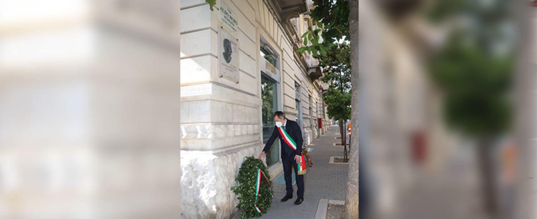 """Commemorazione Moro e Impastato, Angarano: """"Il loro esempio non portà mai morire"""" / FOTO"""