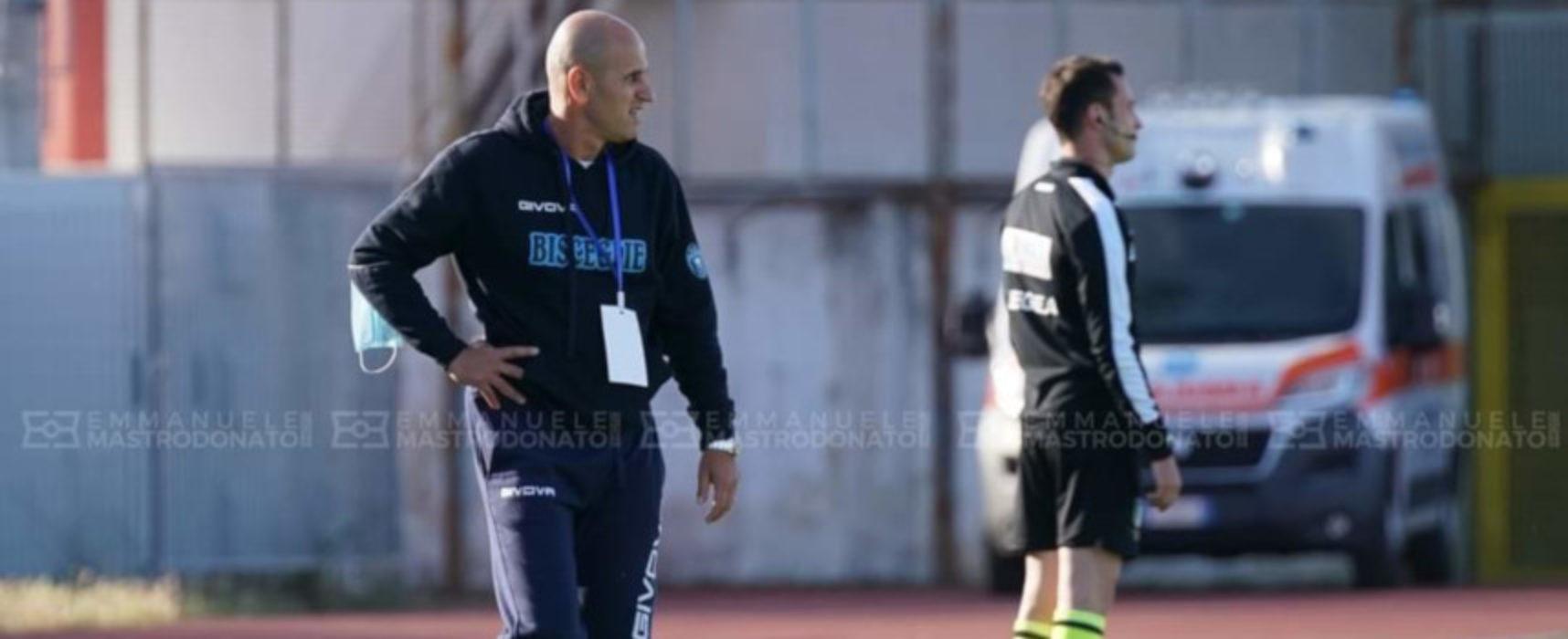 """E' l'ora della verità per il Bisceglie Calcio, Bucaro: """"A Pagani senza pensare all'andata"""""""