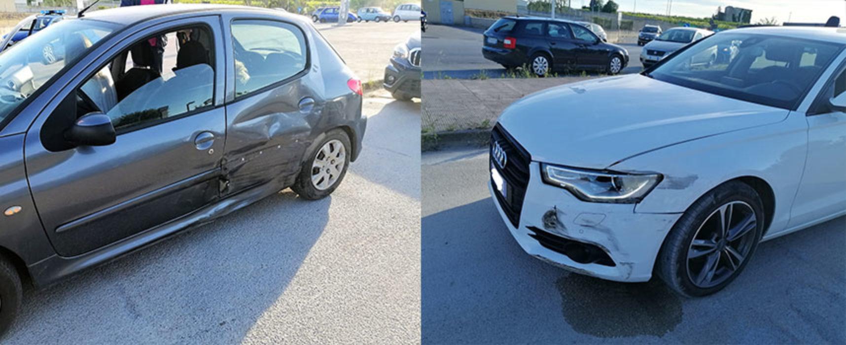 Scontro tra due auto su via Imbriani, donna biscegliese in ospedale