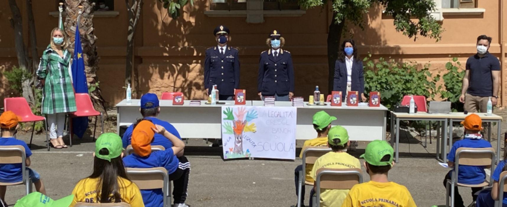 """Rispetto delle regole, Scuola """"De Amicis"""" presenta progetto """"Il mio diario"""" / FOTO"""