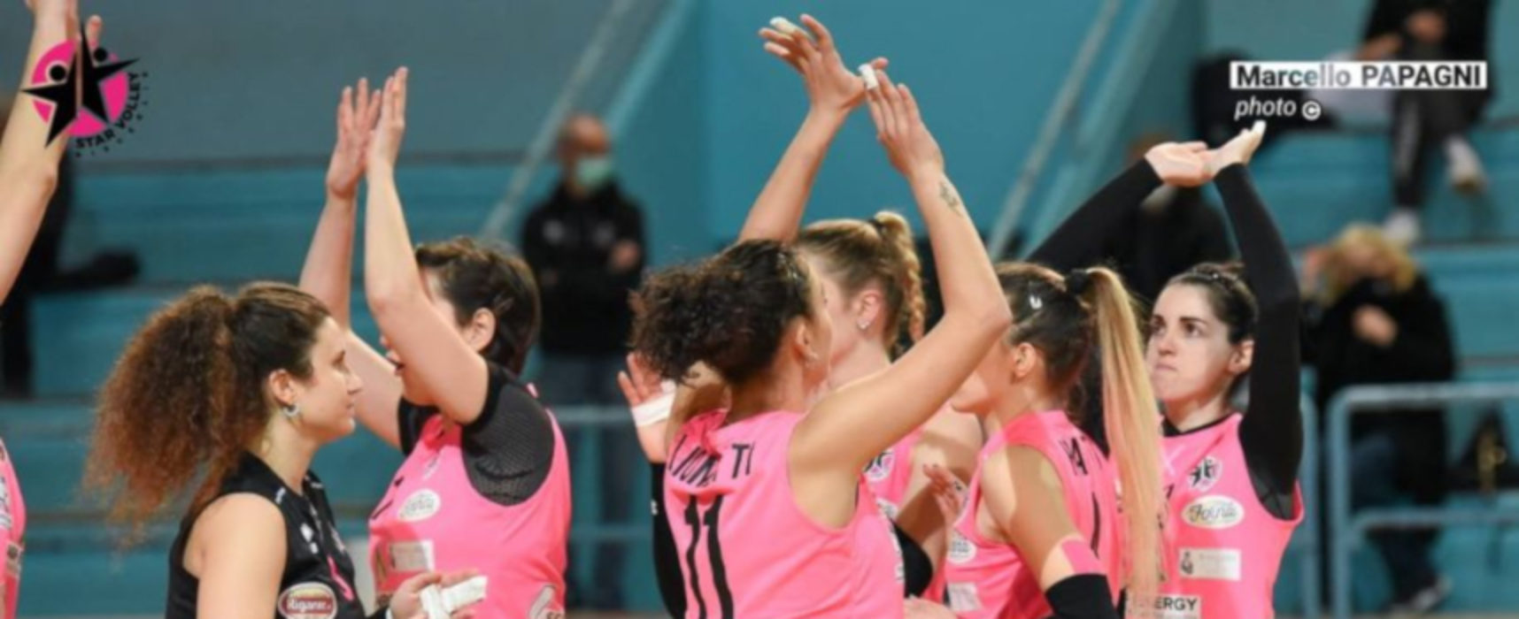 Star Volley sul parquet della capolista, in arrivo vittoria a tavolino per Sportilia