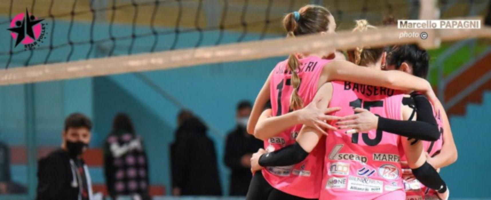 Serie C volley: Sportilia supera Potenza e si prende la vetta, Star Volley ospita la Gio-Mol