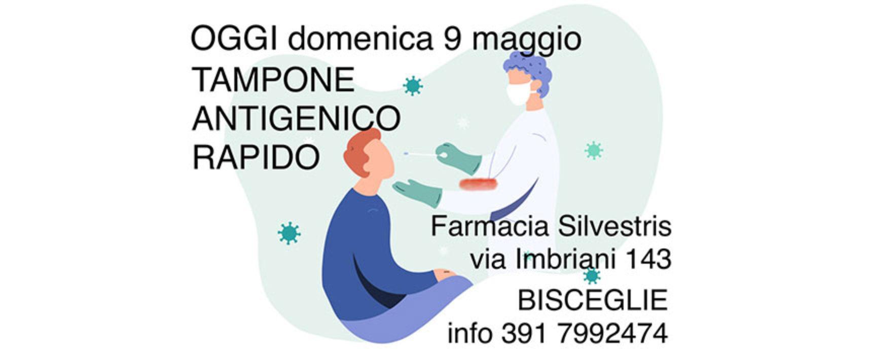 Farmacia Silvestris, nuova giornata per effettuare tampone antigenico rapido