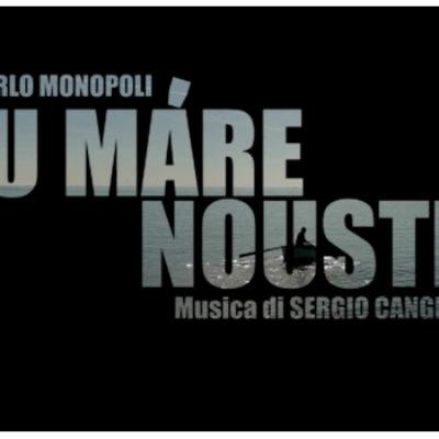 """Carlo Monopoli e """"U máre nouste"""", dichiarazione d'amore in musica verso Bisceglie / VIDEO"""