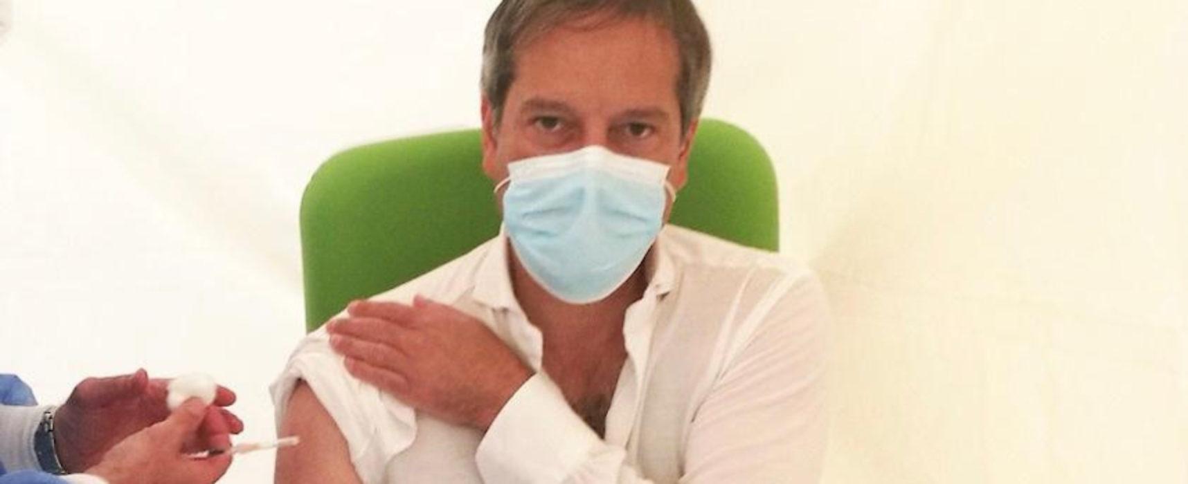 """Sindaco Angarano: """"Proteggiamoci dal virus con la vaccinazione. Buona estate a tutti"""""""