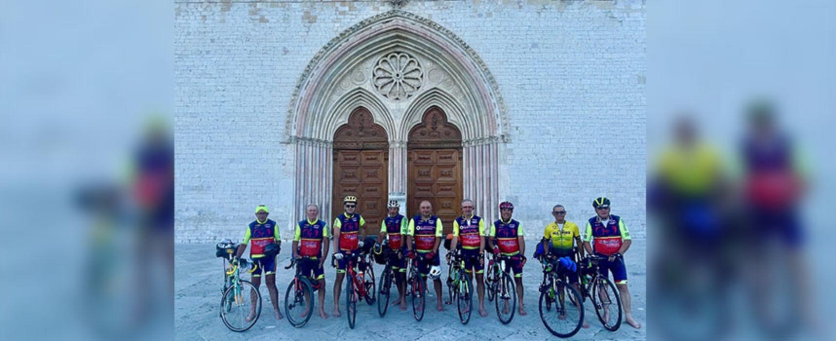 """Avis Mtb """"Carlo Gangai"""", da Bisceglie ad Assisi pedalando in bici"""