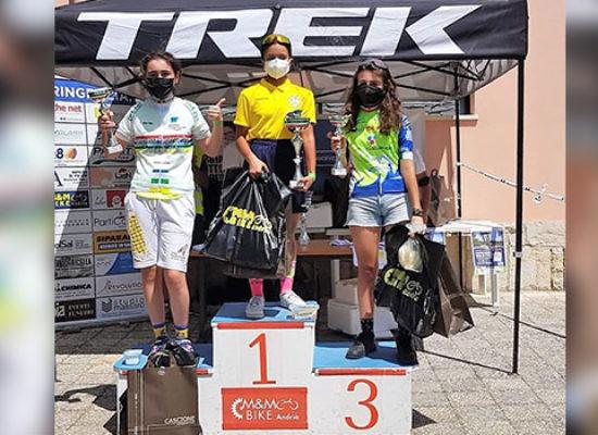 Ciclismo, la biscegliese Di Niso campionessa pugliese Esordienti