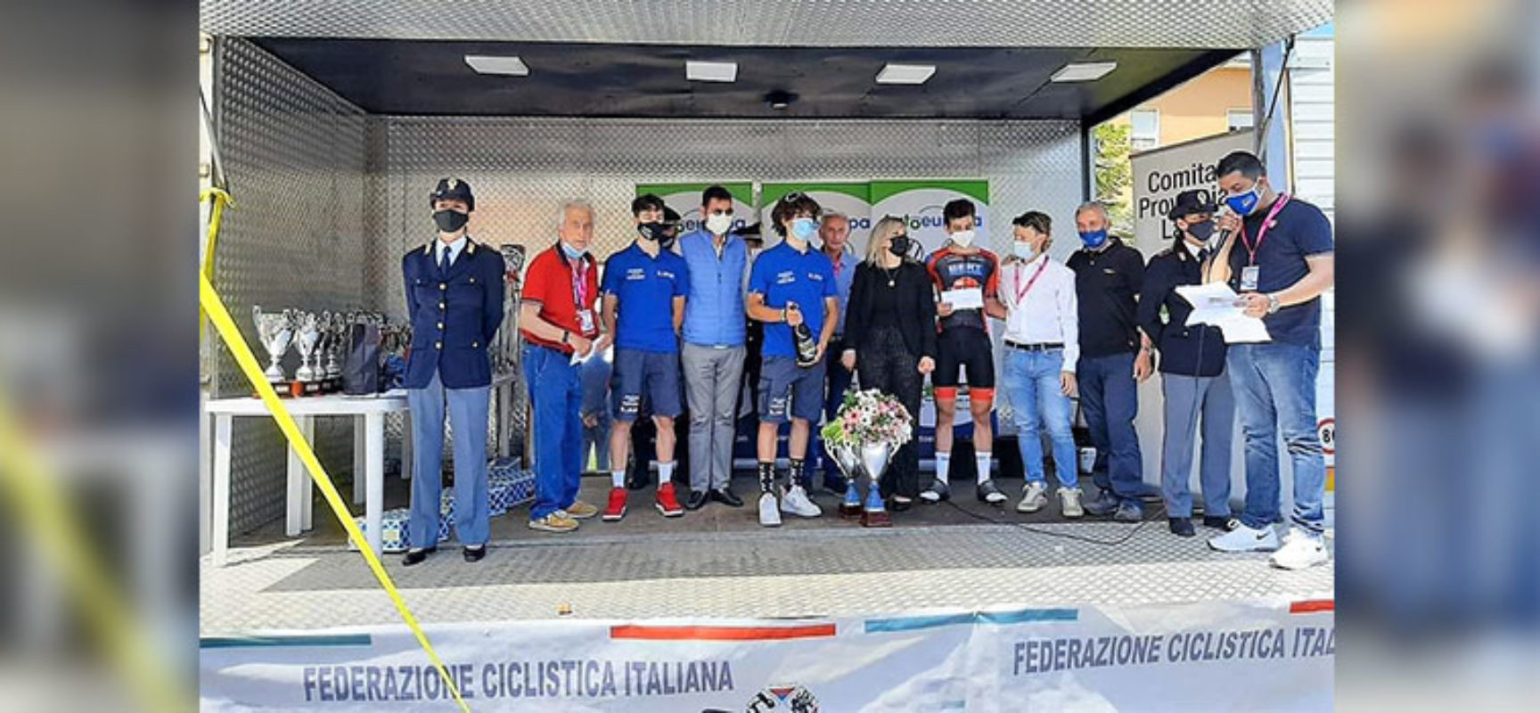 """Il biscegliese Ettore Loconsolo si impone al GP """"Marcello Falcone"""""""
