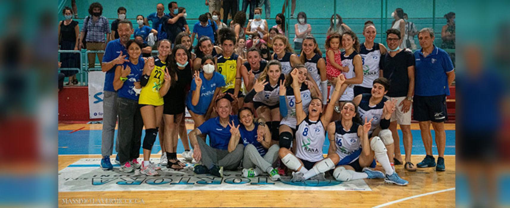 Sportilia batte Leonessa Volley, la promozione in B2 si decide allo spareggio
