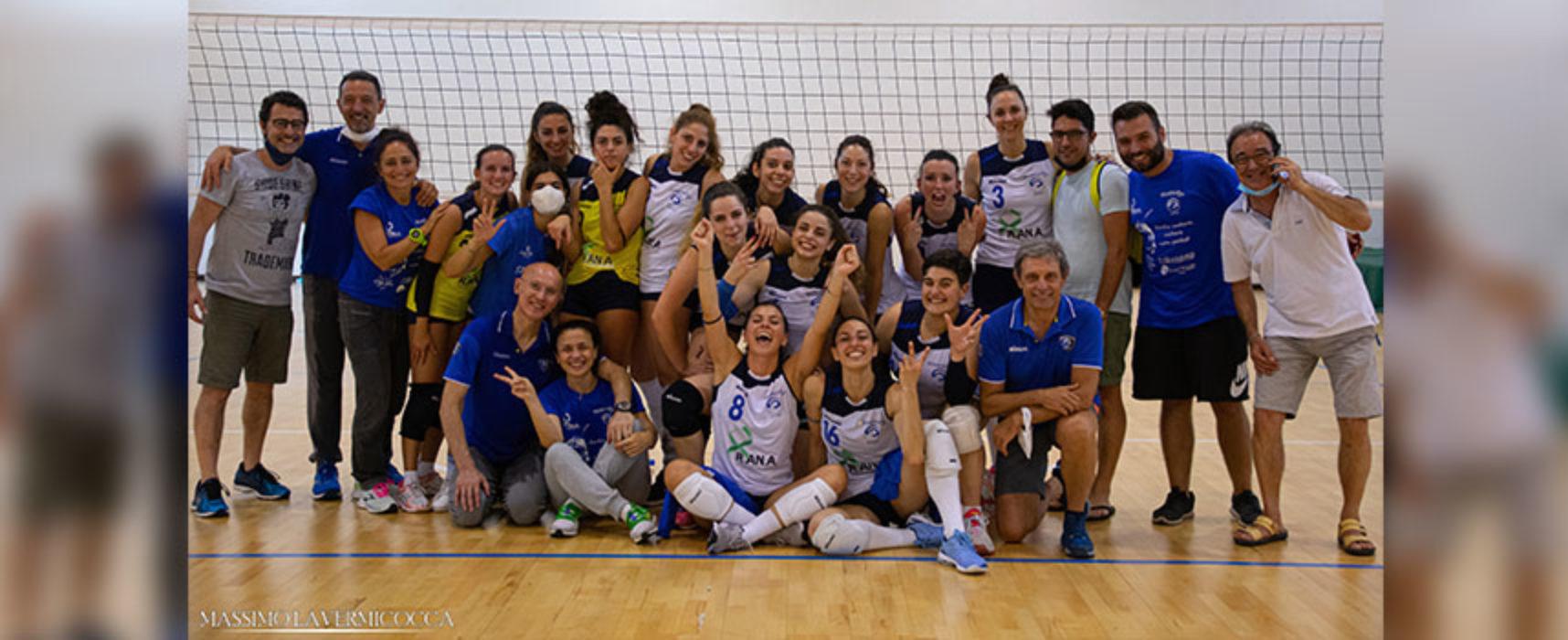 Storica promozione in B2 per la Sportilia Volley Bisceglie