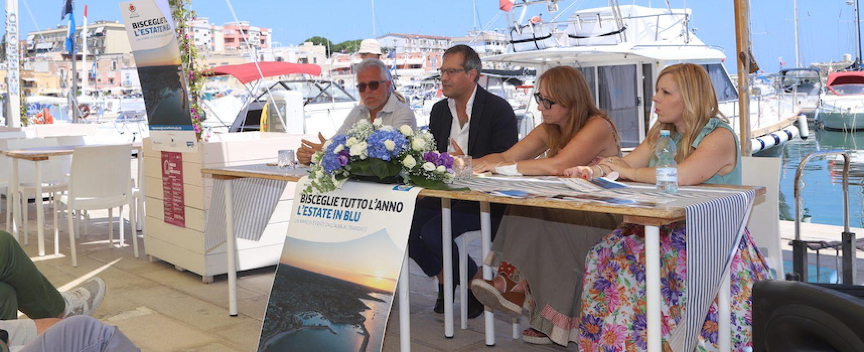 """""""L'Estate in Blu"""": presentato PROGRAMMA eventi estivi a Bisceglie fino a settembre"""