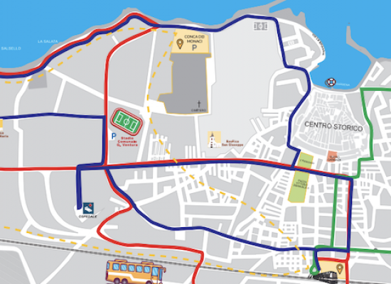Parte nuovo servizio trasporto pubblico locale: tre linee più una dedicata alla movida