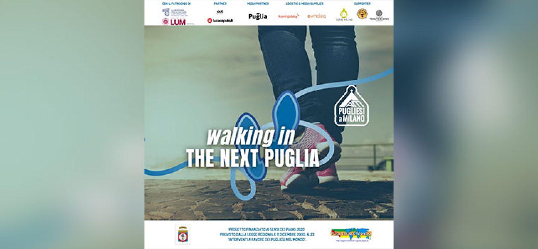 """Azienda biscegliese a supporto del progetto """"Walking in the next Puglia"""""""