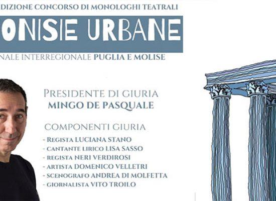 """Premio teatrale """"Dionisie Urbane"""": Mingo De Pasquale presidente di giuria"""