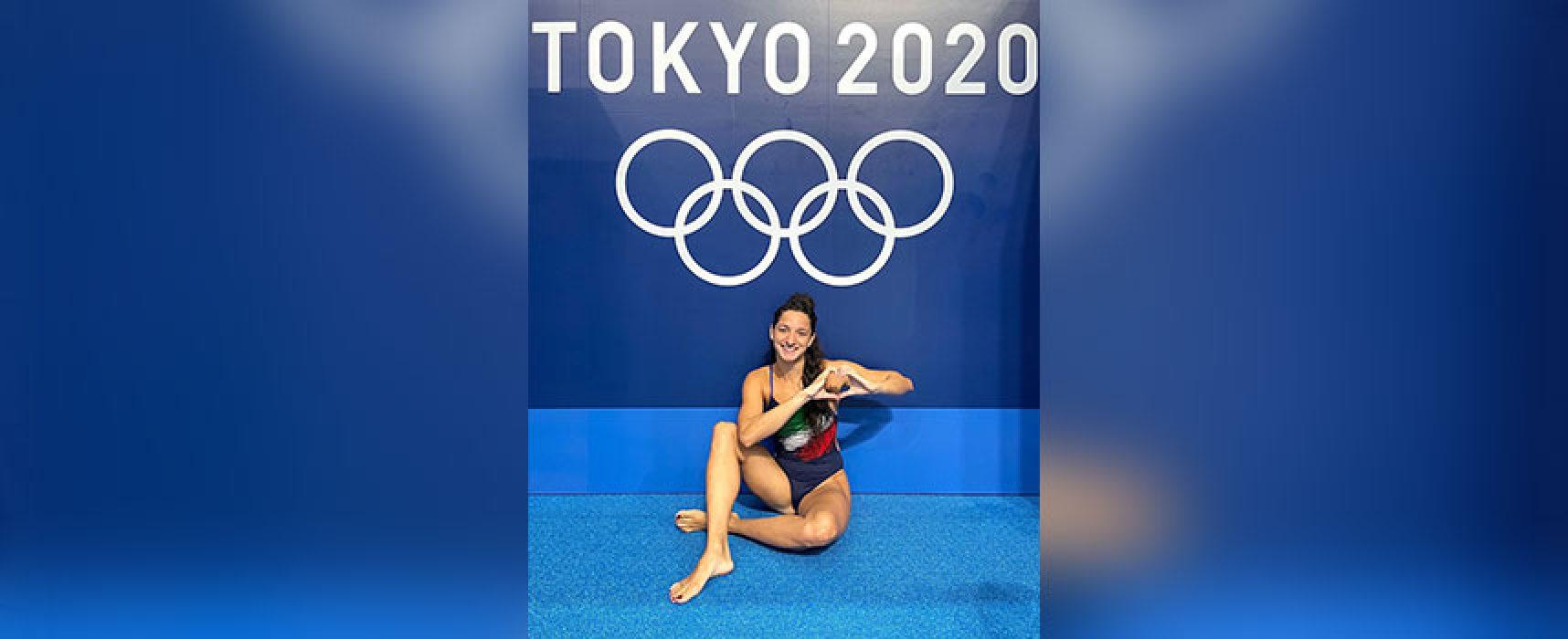 Inizia l'avventura olimpica di Elena Di Liddo
