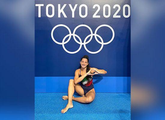 Elena Di Liddo di nuovo in vasca alle Olimpiadi, obiettivo è la finale 4×100 femminile