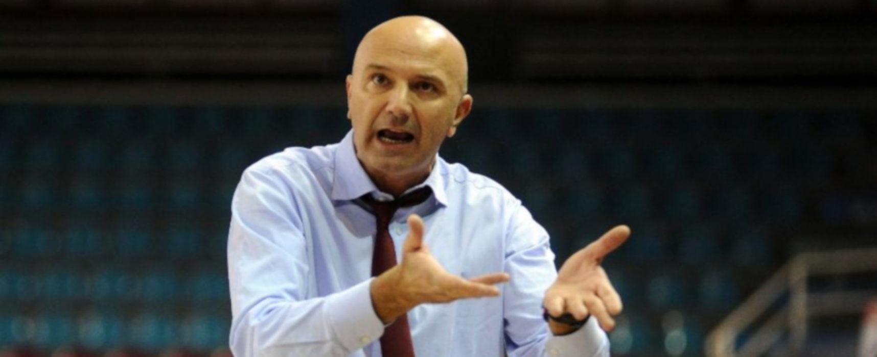 Lions Basket  Bisceglie, Luciano Nunzi è il nuovo tecnico