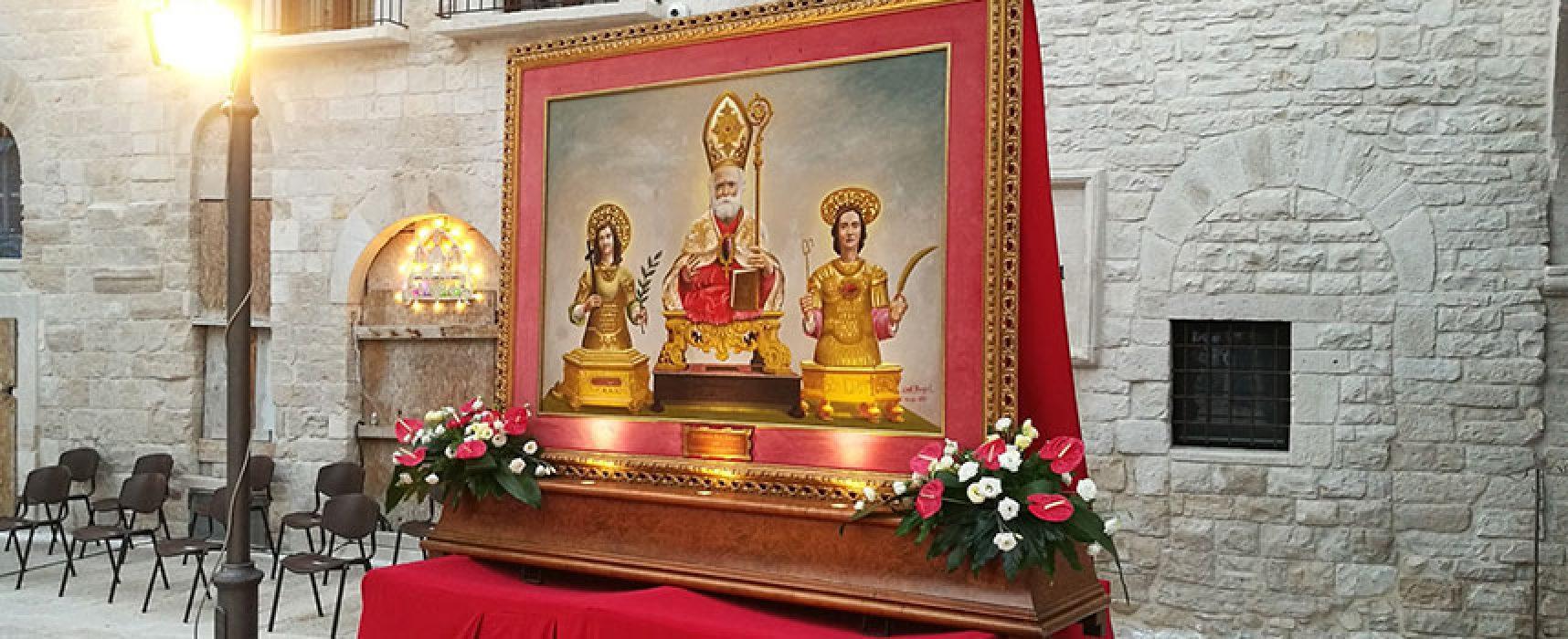 Santi Patroni di Bisceglie, celebrata messa nell'anniversario del martirio / FOTO