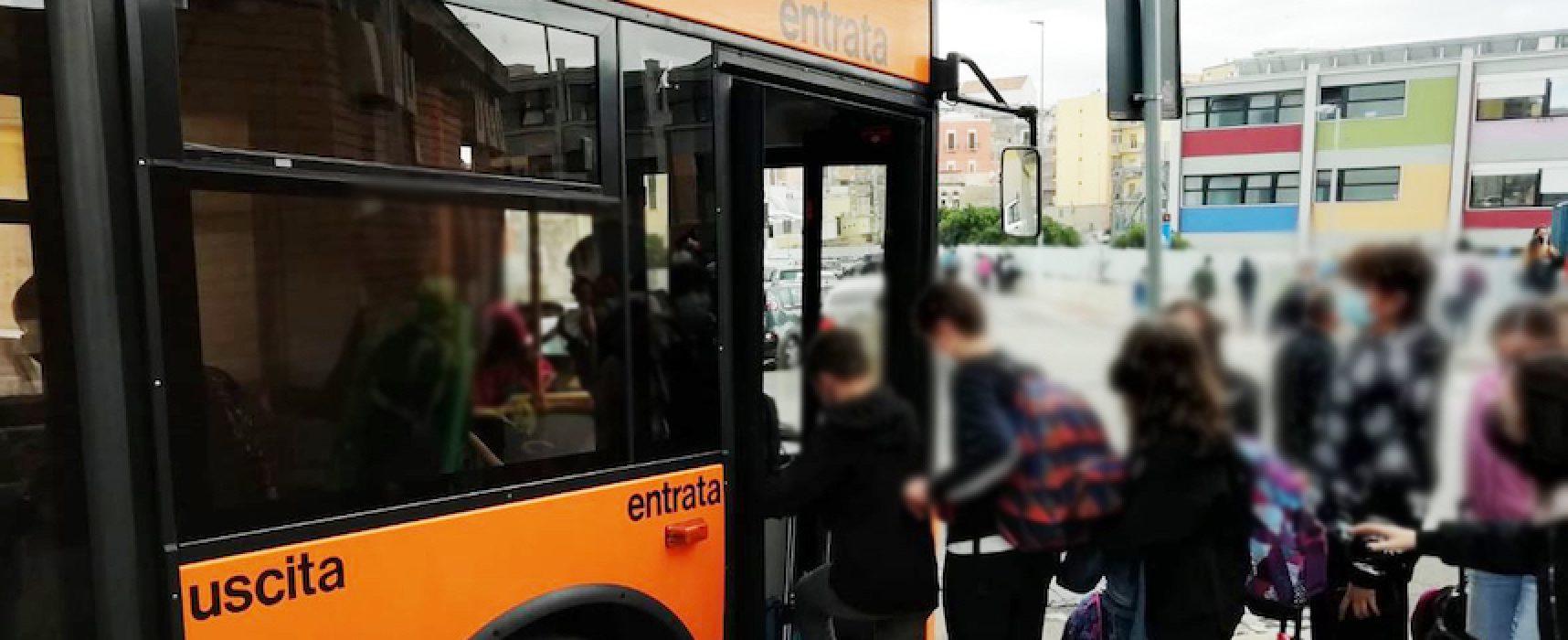 """Partita in via sperimentale la linea dedicata al trasporto degli alunni della """"Monterisi"""""""