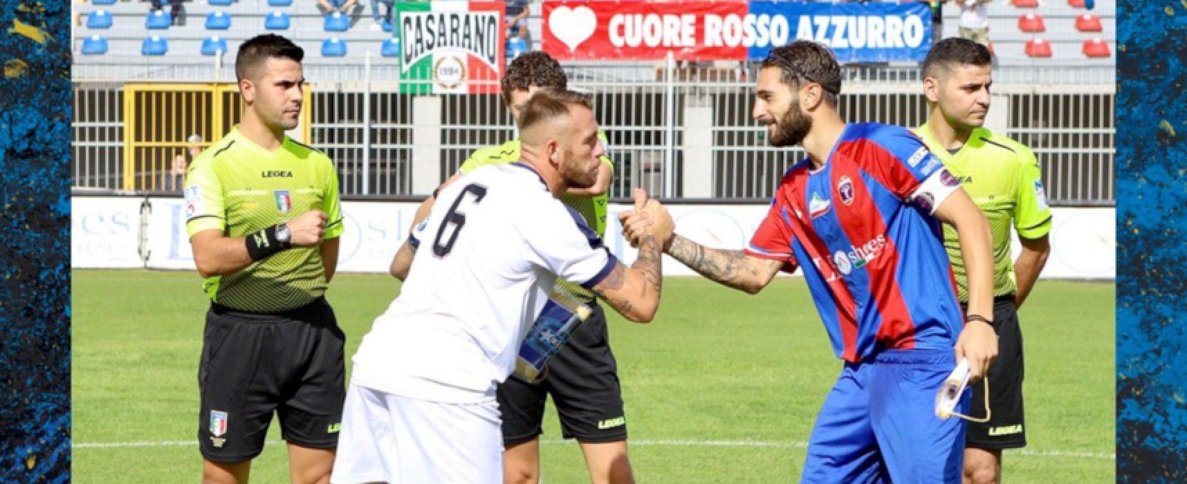 Bisceglie Calcio cerca continuità sul campo del Gravina