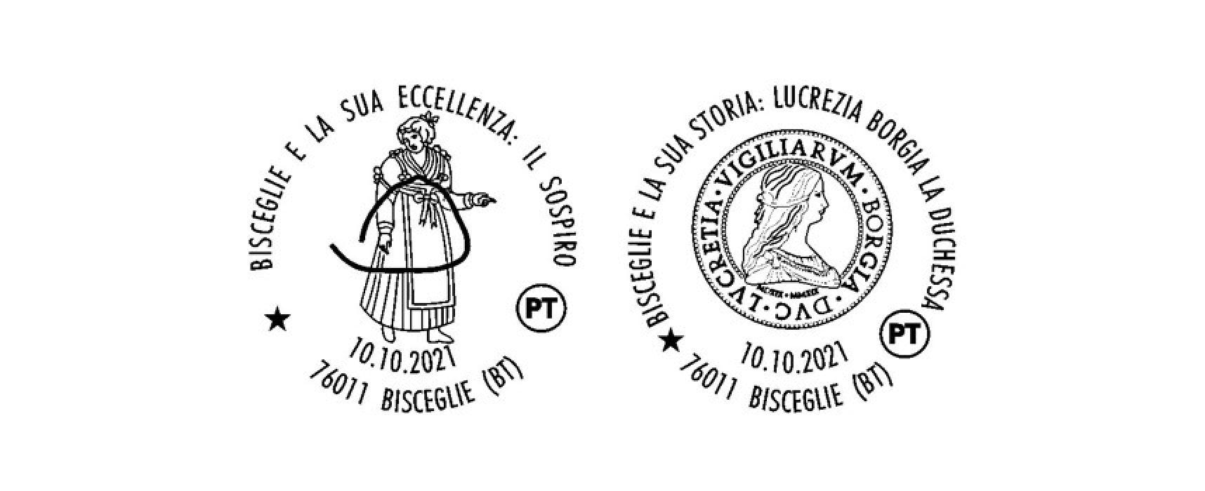 Servizio filatelico di Poste Italiane: due bolli speciali dedicati alla città di Bisceglie