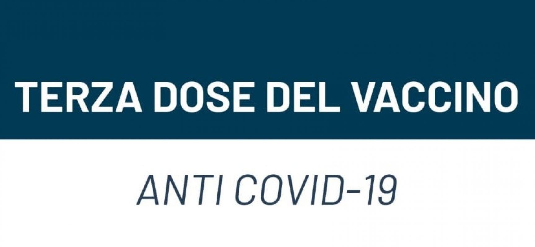 Puglia, attive le prenotazioni della terza dose per le persone dai 60 anni in su