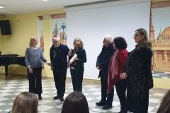 La preside ringrazia i docenti e i rappresentanti de La Canigghie