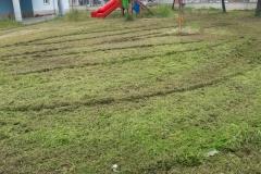 Manutenzione verde scuola falcone borsellino