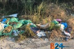 rifiuti complanare via Ruvo-10